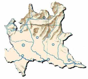 La Lombardia Cartina Fisica.Lombardia Le Regioni D Italia