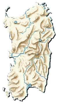 Cartina Montuosa Sardegna.Sardegna Le Regioni D Italia